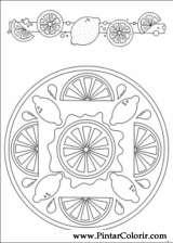 Pintar e Colorir Mandalas - Desenho 082