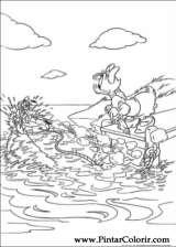 Pintar e Colorir Margarida - Desenho 004