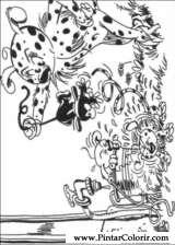 Pintar e Colorir Marsupilami - Desenho 002
