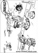 Pintar e Colorir Marsupilami - Desenho 004
