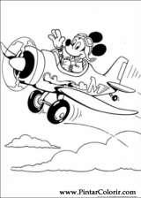 Pintar e Colorir Mickey - Desenho 005