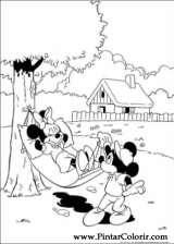Pintar e Colorir Mickey - Desenho 007