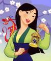 Desenhos Mulan