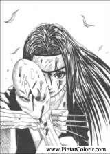 Pintar e Colorir Naruto - Desenho 009
