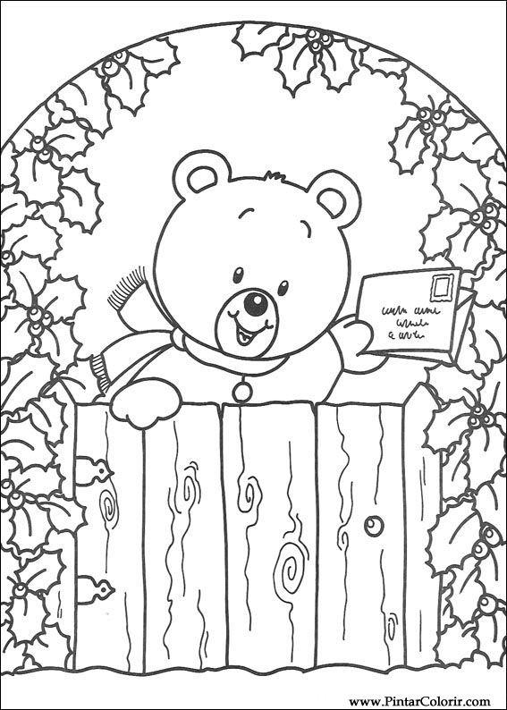 Desenhos Para Pintar E Colorir Natal