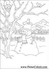 Pintar e Colorir Natal - Desenho 137