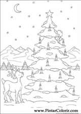 Pintar e Colorir Natal - Desenho 139