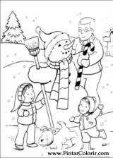 Pintar e Colorir Natal - Desenho 163