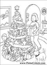 Pintar e Colorir Natal - Desenho 176