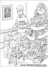Pintar e Colorir Natal - Desenho 177