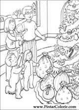 Pintar e Colorir Natal - Desenho 180
