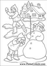Pintar e Colorir Natal - Desenho 222