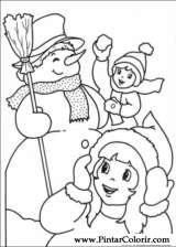Pintar e Colorir Natal - Desenho 241