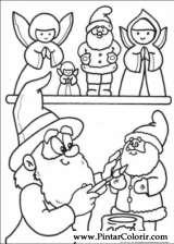Pintar e Colorir Natal - Desenho 246