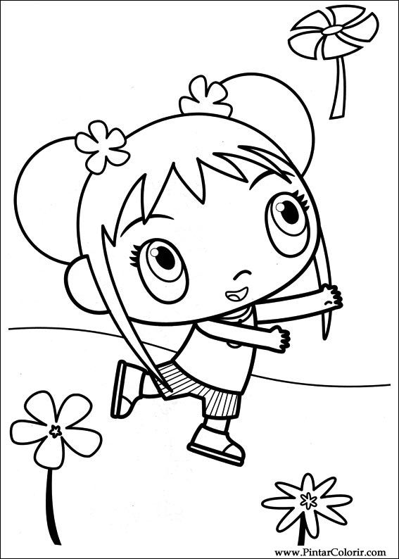 kai lan coloring pages - photo#40