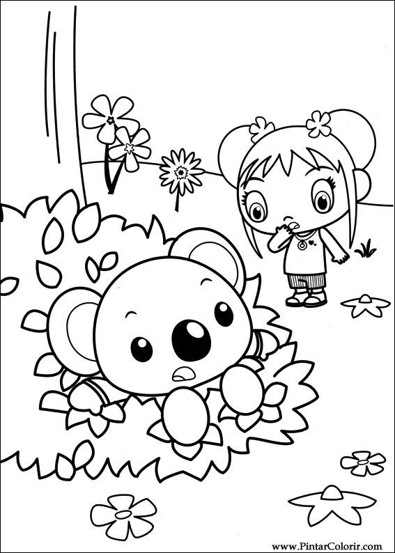 Ni Hao Kai Lan Coloring Pages