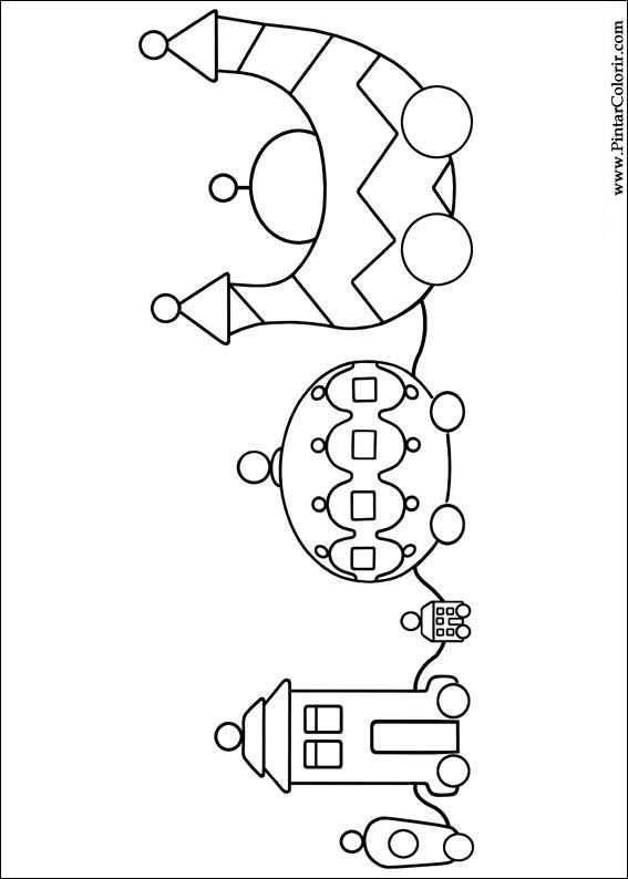 pontipines coloring pages - photo#34