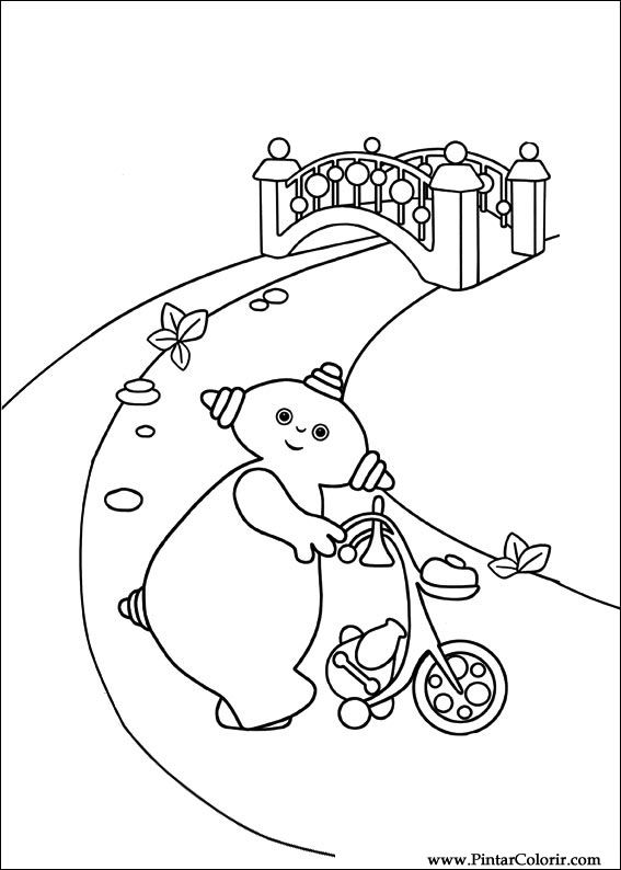 night garden coloring pages print - photo #20