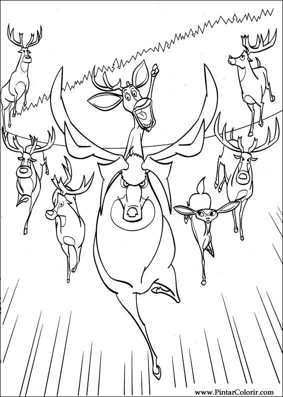 Drawings To Paint Amp Colour The Beast Go Catch Print