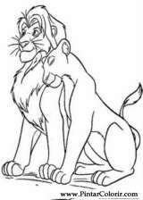 Pintar e Colorir O Rei Leao 3 - Desenho 007