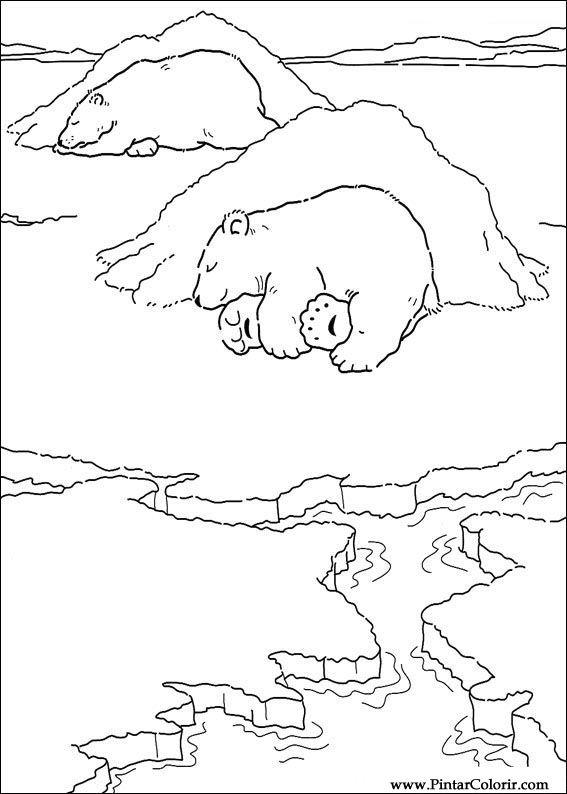 Único Osos Polares Para Colorear Ideas - Páginas Para Colorear ...
