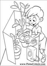 Pintar e Colorir Os Robinsons - Desenho 020
