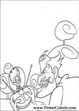 Pintar e Colorir Os Robinsons - Desenho 037