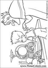 Pintar e Colorir Os Robinsons - Desenho 050
