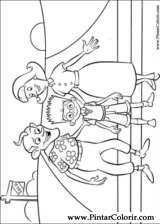 Pintar e Colorir Os Robinsons - Desenho 059