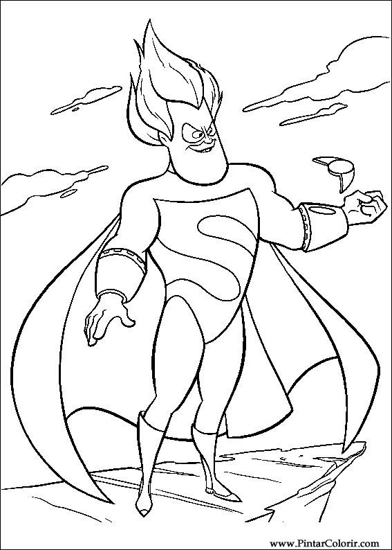 Desenhos Para Pintar E Colorir Os Super Herois Imprimir Buddy The Coloring Pages