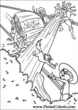 Pintar e Colorir Os Super Herois - Desenho 002