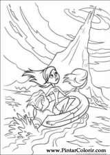Pintar e Colorir Os Super Herois - Desenho 044