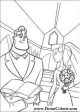 Pintar e Colorir Os Super Herois - Desenho 052