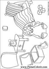 Pintar e Colorir Ozie Boo - Desenho 004