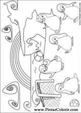 Pintar e Colorir Ozie Boo - Desenho 006