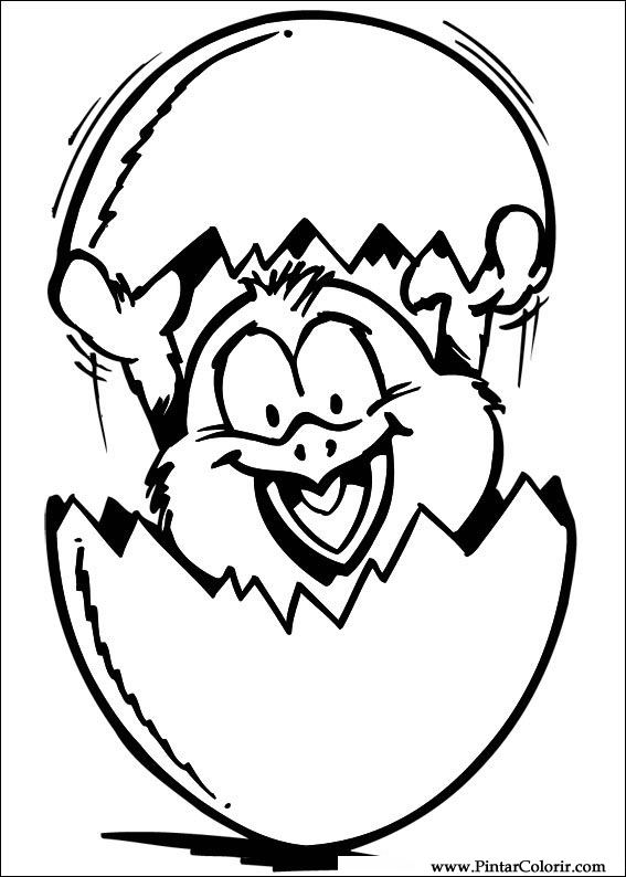 Kippen En Kuikens Kleurplaten Disegni Per Dipingere Amp Colour Pasqua Stampare