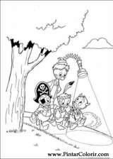 Pintar e Colorir Pato Donald - Desenho 139