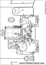 Pintar e Colorir Peppa Pig - Desenho 007