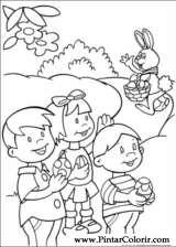 Pintar e Colorir Peter Cottontail - Desenho 008