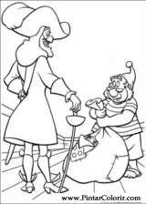 Pintar e Colorir Peter Pan 2 - Desenho 002