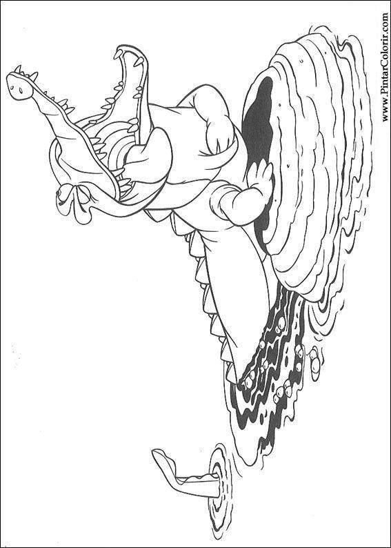Kleurplaat Muppets Tekeningen Te Schilderen Amp Kleur Peter Pan Print Design 009