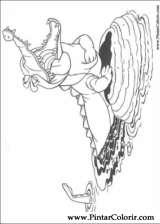 Pintar e Colorir Peter Pan - Desenho 009