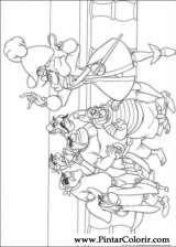 Pintar e Colorir Peter Pan - Desenho 011
