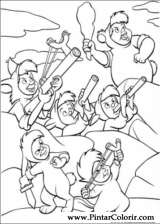 Pintar e Colorir Peter Pan - Desenho 040