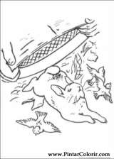 Disegni Per Dipingere E Colore Di Peter Rabbit
