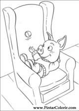 Pintar e Colorir Piggley Winks - Desenho 003