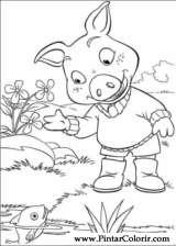 Pintar e Colorir Piggley Winks - Desenho 005