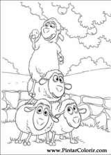 Pintar e Colorir Piggley Winks - Desenho 008