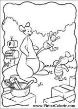 Pintar e Colorir Piglet - Desenho 019