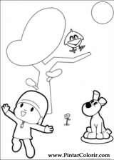 Pintar e Colorir Pocoyo - Desenho 006